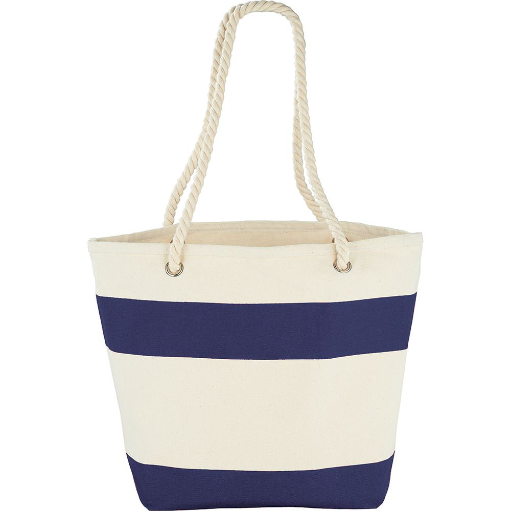 Capri Stripes Cotton Shopper Tote - therange.co.nz