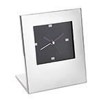 Clocks - Desk Clock - Silver