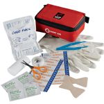 - Stay Safe Portable First Aid Kit - Red