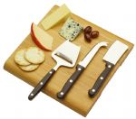 - Cheese Board Set - Wood