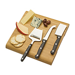 Last Minute Christmas Gift Ideas - Cheese Board Set - Wood