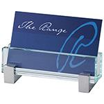 Desk & Business Items - Glass Business Card Holder