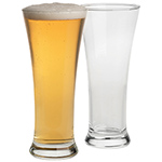 Drinkware - Pilsner Beer Glass Set - Clear