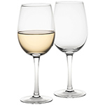Last Minute Christmas Gift Ideas - Wine Glass Set - Clear