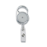 - Retractable Badge Holder - Transparent