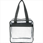 - Game Day Clear Zippered Safety Tote