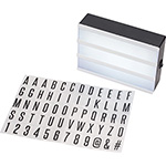 Home and Travel - Cinema Light Box - Black
