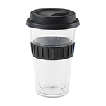 - Plastic Double-Walled Mug