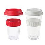 - Plastic Double-walled Mug