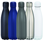 Thermal Drinkware - Copper Vacuum Insulated Bottle - Black