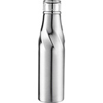 Sports Bottles - Hugo Auto-Seal Copper Vacuum Insulated Bottle - Silver
