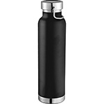 - Thor Copper Vacuum Insulated Bottle - Black