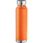 Sports Bottles - Thor Copper Vacuum Insulated Bottle - Orange