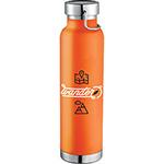 - Thor Copper Vacuum Insulated Bottle - Orange