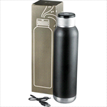 Sports & Gym - Soundwave Copper Vacuum Audio Bottle 650ml