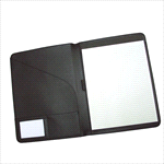 Non-Leather Pad Covers - A4 Pad Cover - Black