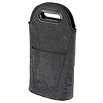 Latest Products - Two Bottle Insulated Wine Cooler & Carrier - Black