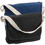 Back to School and Work - Canvas Shoulder Bag