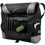 Latest Products - Slant Messenger Bag - Black