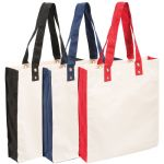 - Cotton Canvas Tote