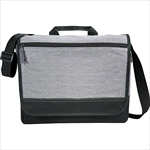 - Faded Tablet Messenger Bag - Grey