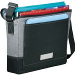 Satchels and Messengers - Faded Tablet Messenger Bag - Grey
