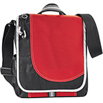 - Boomerang Messenger Bag - Red