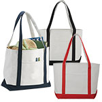 Conference Bags - Premium Heavy Weight Cotton Boat Tote