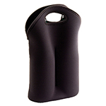 Wine Carriers - Double Bottle Carrier - Black