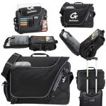Messenger Bags - Summit Checkpoint-Friendly Computer-Case - Black