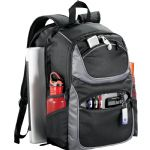 Backpacks - Continental Checkpoint-Friendly Compu-Backpack - Black