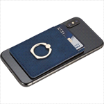 - RFID Premium Phone Wallet with Ring Holder