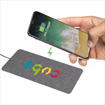 - Ultra Thin Fabric Wireless Charging Pad
