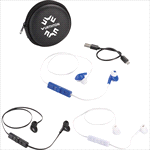 Earbuds & Headphones - Sonic Bluetooth Earbuds and Carrying Case