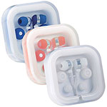 Earbuds & Headphones - Ear Buds in Case Organiser - Blue