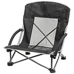 Towels and Beach - Folding Beach Chair - Black