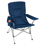 Chairs  - Folding Picnic Chair - Navy Blue