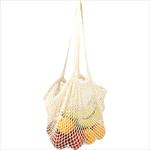- Riviera Cotton Mesh Market Bag w/ Zippered Pouch