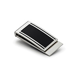Personal Items - Metal Money Clip - Silver