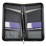 Passport Wallets - Zip Travel Wallet - Black