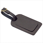 - Covered Luggage Tag - Black