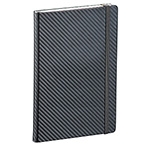 JournalBooks - Ambassador Carbon Fibre 5 x 7 JournalBook - Black