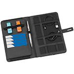 - The Power Passport Holder - Black