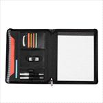 - Cutter & Buck® A4 Zippered Compendium - Black