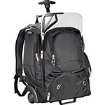 Bag Brands - Elleven™ Wheeled Compu-Backpack - Black