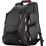 Business & Computer Bags - Elleven™ Checkpoint-Friendly Compu-Backpack - Black