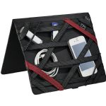 Tablet Cases - Elleven™ Vapor Zippered Padfolio - Black
