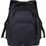 Bag Brands - Elleven Rutter TSA 17 inch Computer Backpack - Black
