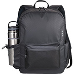 Back to School and Work - Elevate Ridge 15 inch Computer Backpack - Black