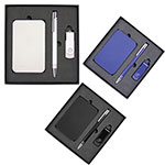 - Gift Set with Charger, 4Gb Lacquered Rotate Flash Drive & Hawk Pen